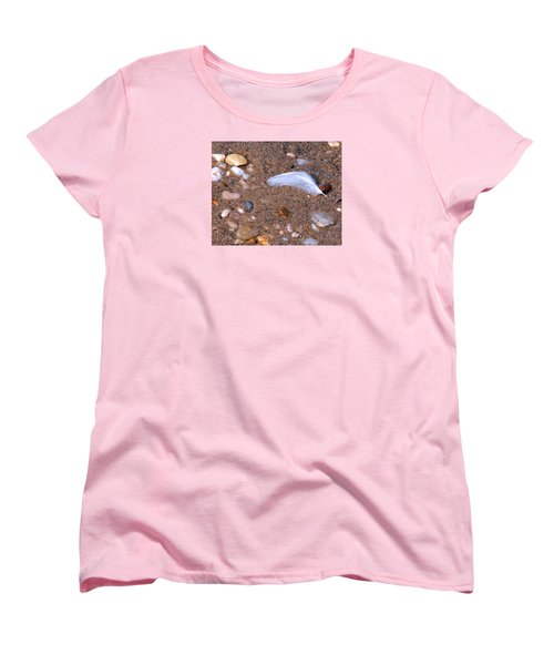 Women's T-Shirt (Standard Cut) featuring the photograph Alone Among Strangers by Lynda Lehmann