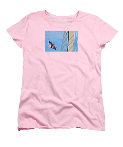 American Afternoon Women's T-Shirt (Standard Cut) by Martin Cline