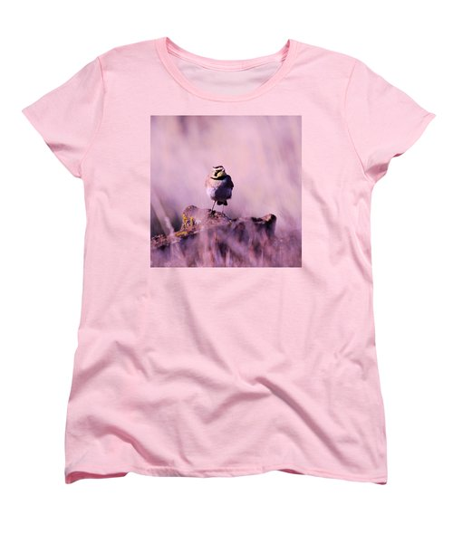An Searching Gaze  Women's T-Shirt (Standard Cut) by Jeff Swan