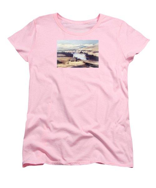 Another Flathead River Image Women's T-Shirt (Standard Cut) by Janie Johnson