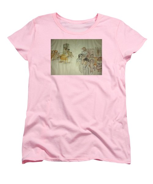 Another Look At Mental Illness Album Women's T-Shirt (Standard Cut) by Debbi Saccomanno Chan
