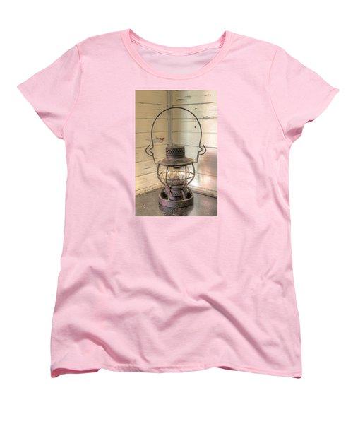 Antique Weighted Kerosene Lantern Women's T-Shirt (Standard Cut) by Gary Slawsky