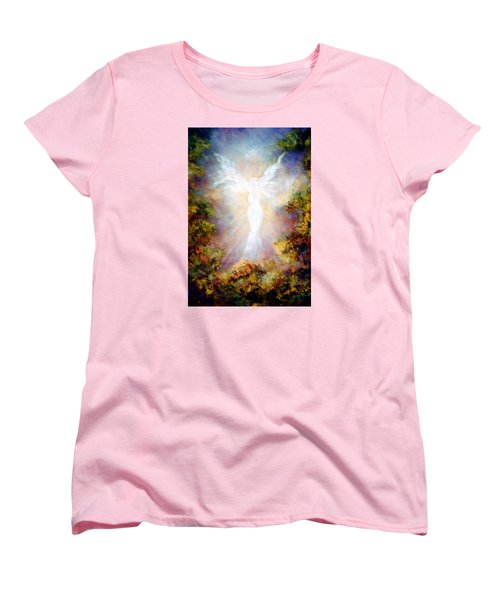 Women's T-Shirt (Standard Cut) featuring the painting Apparition II by Marina Petro