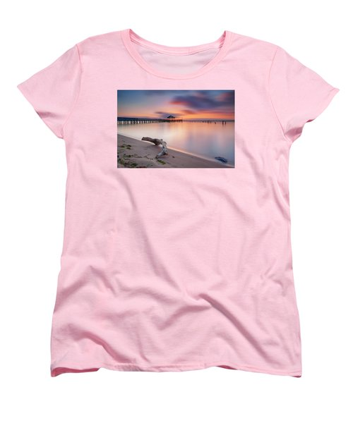 Women's T-Shirt (Standard Cut) featuring the photograph Are We Predestined To Get What We Get by Edward Kreis