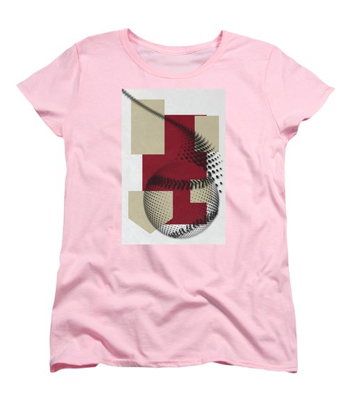 Arizona Diamondbacks Art Women's T-Shirt (Standard Cut) by Joe Hamilton