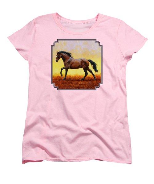 Midnight Sun Women's T-Shirt (Standard Fit)