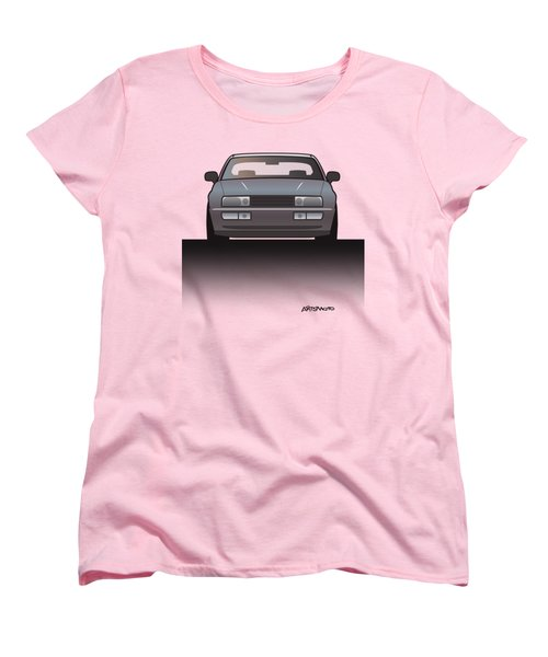 Modern Euro Icons Series Vw Corrado Vr6 Women's T-Shirt (Standard Cut) by Monkey Crisis On Mars