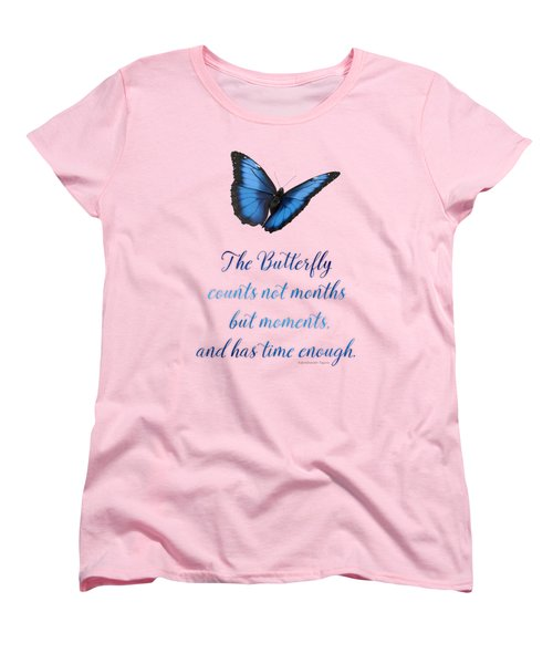 The Butterfly Women's T-Shirt (Standard Cut) by Mary Machare