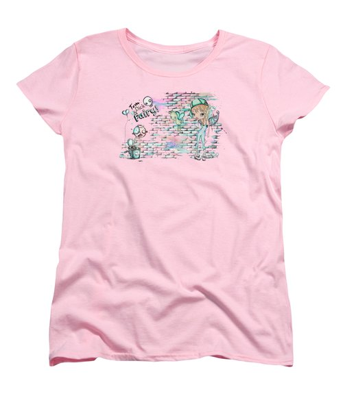 Tom Dick And Fairy Women's T-Shirt (Standard Cut) by Lizzy Love