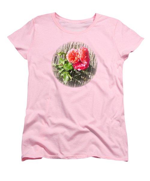 Floral Escape Women's T-Shirt (Standard Cut) by Ivana Westin