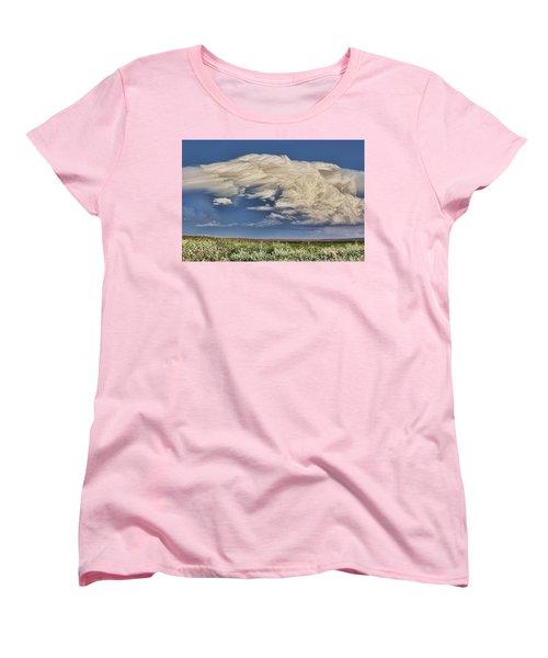 Cloud Brew Women's T-Shirt (Standard Cut) by Bill Kesler