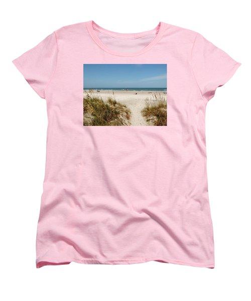 On The Beach Women's T-Shirt (Standard Cut)