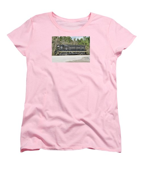 Atlantic Coast Line Gp7 #100 Women's T-Shirt (Standard Cut) by John Black