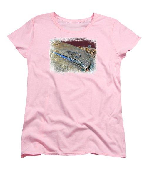 Austin A40 Somerset Flying A Women's T-Shirt (Standard Cut) by Nick Kloepping