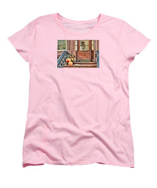 Autumn Hails Women's T-Shirt (Standard Cut) by JAMART Photography