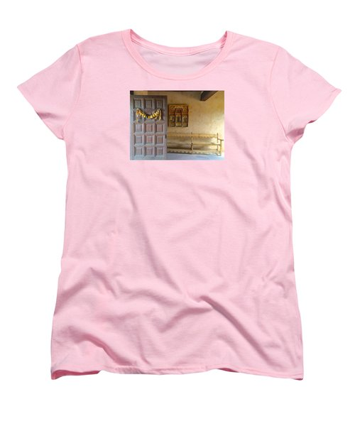 Women's T-Shirt (Standard Cut) featuring the photograph Autumn In Albuquerque by Brenda Pressnall