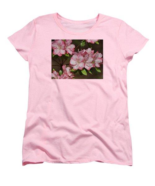 Women's T-Shirt (Standard Cut) featuring the photograph Azalea by Sandy Keeton