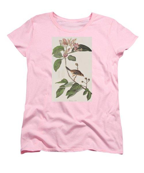 Bachmans Sparrow Women's T-Shirt (Standard Cut) by John James Audubon