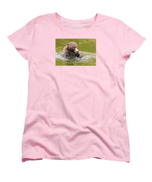 Bad Hair Day Women's T-Shirt (Standard Cut) by Harold Piskiel