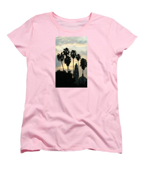 Balboa Park Museum Of Man Women's T-Shirt (Standard Cut) by Christopher Woods
