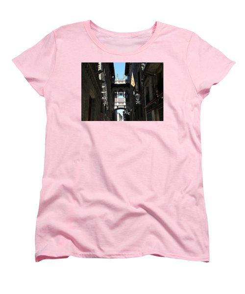 Women's T-Shirt (Standard Cut) featuring the photograph Barcelona 1 by Andrew Fare
