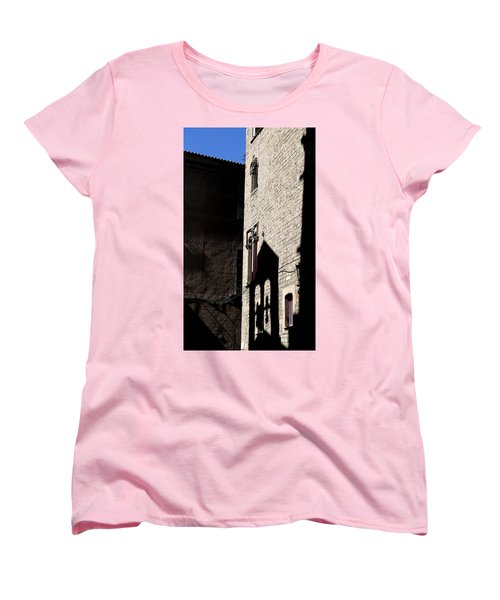 Women's T-Shirt (Standard Cut) featuring the photograph Barcelona 2 by Andrew Fare