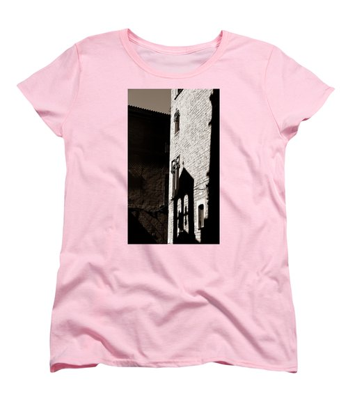 Women's T-Shirt (Standard Cut) featuring the photograph Barcelona 2b by Andrew Fare