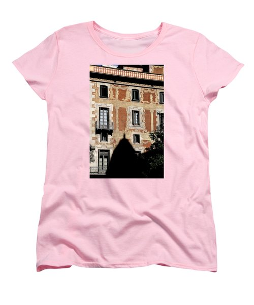 Women's T-Shirt (Standard Cut) featuring the photograph Barcelona 3 by Andrew Fare
