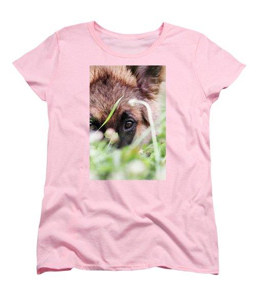 Bashful Women's T-Shirt (Standard Cut)