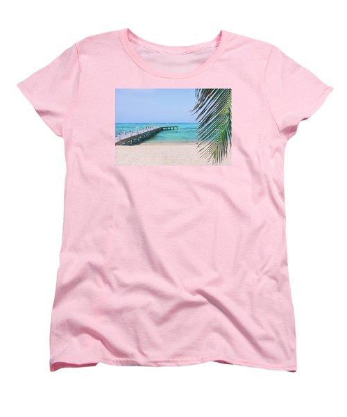 Beach Dreams Women's T-Shirt (Standard Cut) by Iryna Goodall