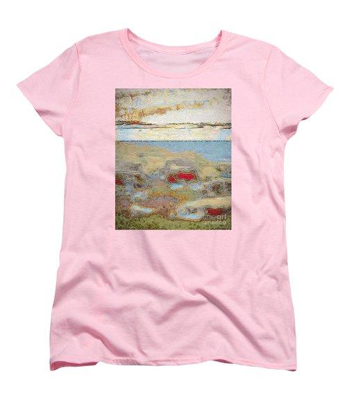 Women's T-Shirt (Standard Cut) featuring the photograph Beach Dunes by William Wyckoff