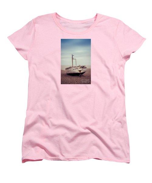 Beach Home Women's T-Shirt (Standard Cut) by David Warrington