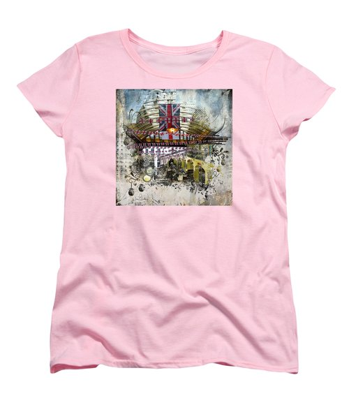 Beating Heart Women's T-Shirt (Standard Cut) by Nicky Jameson