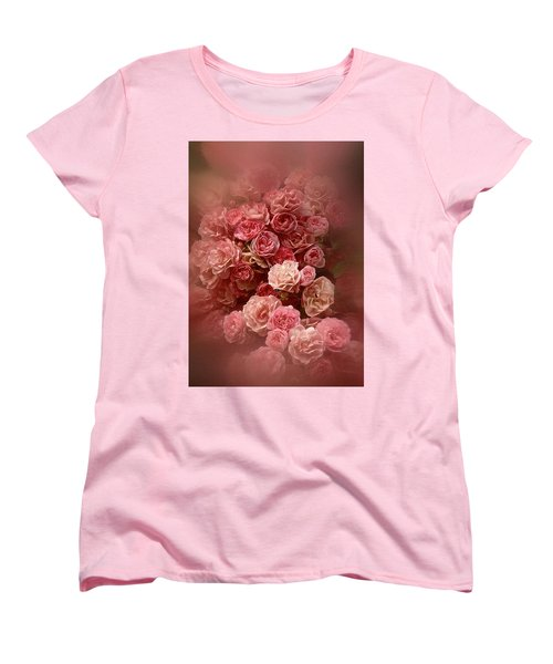Beautiful Roses 2016 Women's T-Shirt (Standard Cut) by Richard Cummings