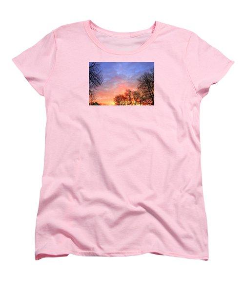 Beautiful Sunrise After Blizzard  Women's T-Shirt (Standard Cut)