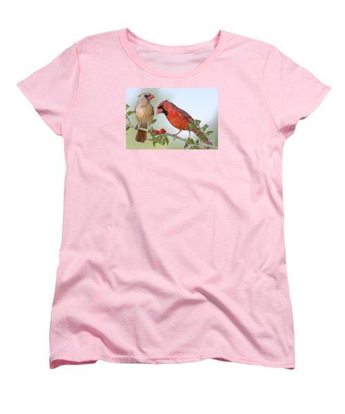 Beauty On A Branch Women's T-Shirt (Standard Cut) by Bonnie Barry