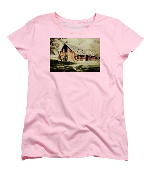 Beckys Barn 1 Women's T-Shirt (Standard Cut) by Julie Hamilton