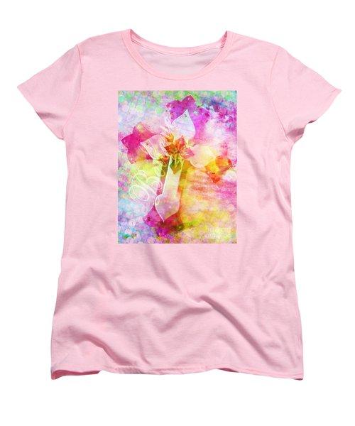 Believe O2 Women's T-Shirt (Standard Cut) by Robert ONeil