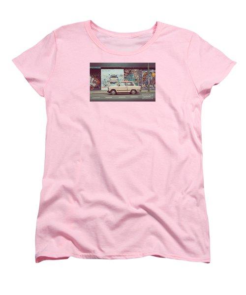 Berlin East Side Gallery Women's T-Shirt (Standard Cut) by JR Photography
