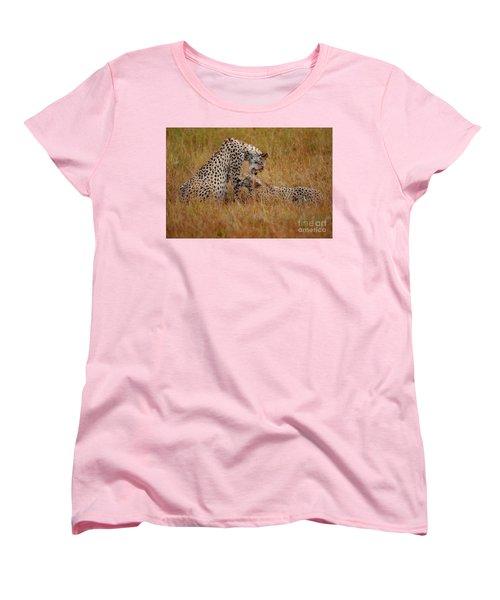 Best Of Friends Women's T-Shirt (Standard Cut) by Nichola Denny