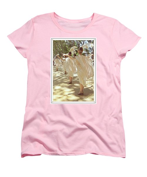 Birds Of A Feather Follies Women's T-Shirt (Standard Cut) by Lilliana Mendez