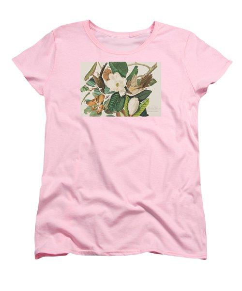 Black Billed Cuckoo Women's T-Shirt (Standard Cut) by John James Audubon