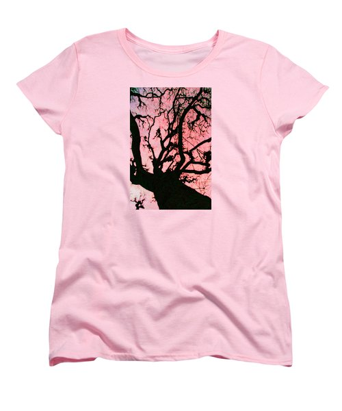 Women's T-Shirt (Standard Cut) featuring the photograph Black Paris by Patricia Arroyo