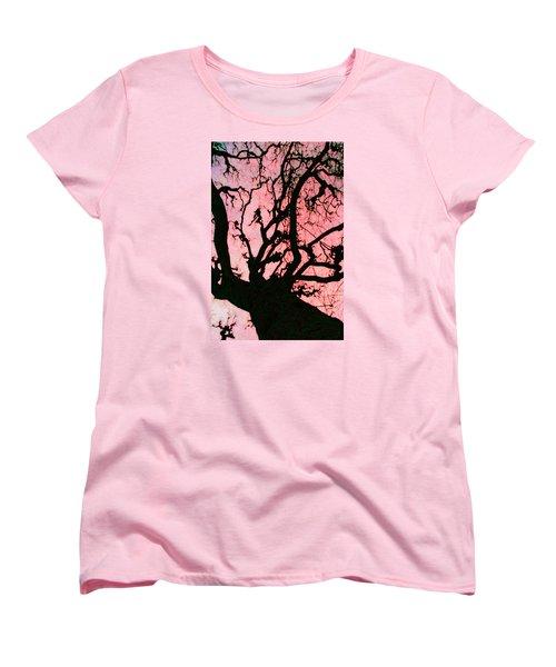 Black Paris Women's T-Shirt (Standard Cut)