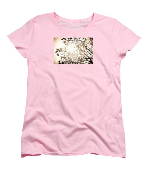 Blinding Sun Women's T-Shirt (Standard Cut) by Lora Lee Chapman