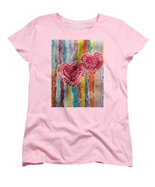 Bliss Women's T-Shirt (Standard Cut) by Sonali Gangane