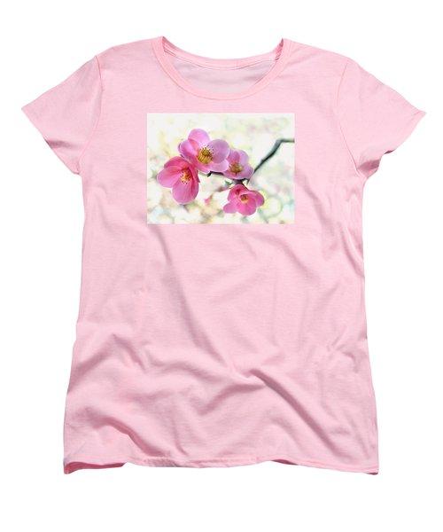 Blossoms Women's T-Shirt (Standard Cut) by Marion Cullen