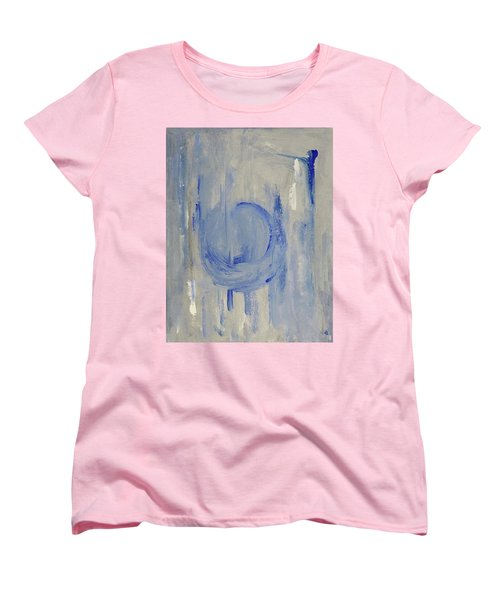 Blue Moon Women's T-Shirt (Standard Cut) by Victoria Lakes