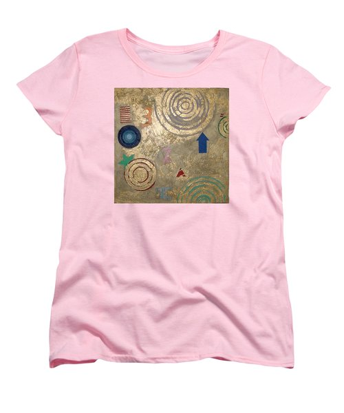 Boogie 3 Women's T-Shirt (Standard Cut) by Bernard Goodman