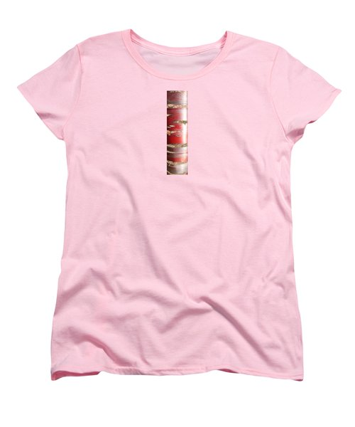 Bouleau Rouge Women's T-Shirt (Standard Cut) by Marc Philippe Joly